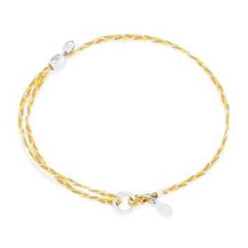 Yellow Precious Threads Bracelet