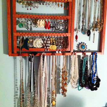 Shop Wall Earring Organizer on Wanelo