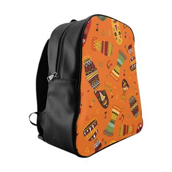 African Spirit School Backpack