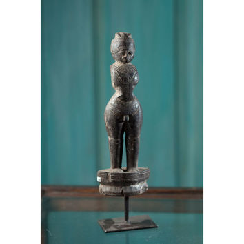 Vintage Wooden Indian Statue