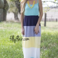 Colorblock for Summer maxi