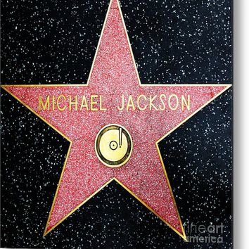 Hollywood Walk Of Fame Michael Jackson 5d28974 Metal Print