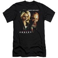 Bride Of Chucky - Chucky Gets Lucky Premuim Canvas Adult Slim Fit 30/1