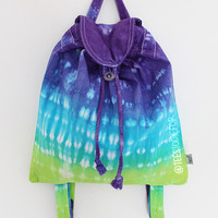 Good Vibes Tie Dye Boho Backpack (Zesty - Pre-order 3 working days)