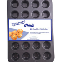 Entenmann's Bakeware Classic ENT19013 24-Cup Mini Muffin/Cupcake Pan