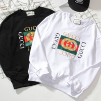 GUCCI Round Neck Long Sleeve Sweater