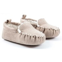 Tan Dakota Baby Slippers - 6-9 Months | Shop Hobby Lobby