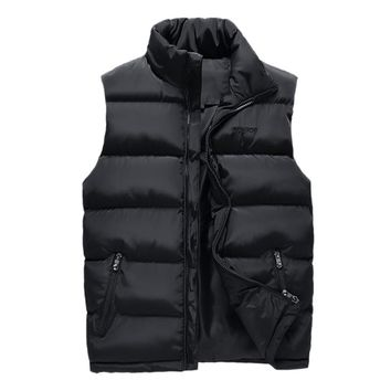 Man Spring Plus Size Thick Jackets Male Winter Oversized Warm Down Parkas Men Autumn Down Vests Man Thicken Down Overcoat