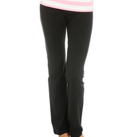 Neon Stripe Yoga Pant | Shop Active at Wet Seal