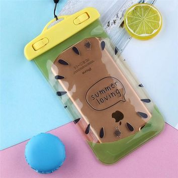 Fruit Waterproof 30M Depth Bag Phone Case