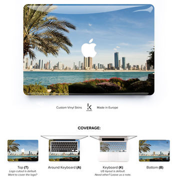 Dubai UAE Macbook Skin Macbook Pro Skin Macbook Air Skin Macbook Cover Macbook Decal Macbook Sticker Laptop Skin Dubai Sharjah Arab Emirates