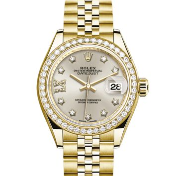 Rolex Lady Datejust Analog-Automatic Womens Watch 279138RBR (Certified Pre-Owned)