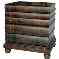 Crestview Library 3-Drawer Chest - CVFYR654
