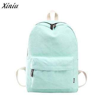 Men Women Backpack female Canvas school bag Rucksack Shoulder Bags Bookbags Travel schoolbag backpack mochila feminina Satchel