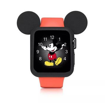 Free Shipping! Mickey Mouse Ears. Mickey Mouse Apple Watch Ears. Apple Watch. Mickey Ears. Mickey Watch. Disney Ears. Disney Watch. Silicone