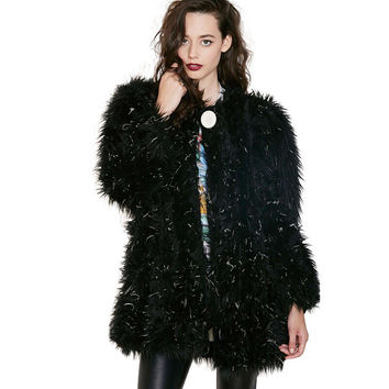Boyfriend Fur Tops Jacket [6407752260]