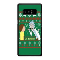 Rick And Morty Get Schwifty Samsung Galaxy Note 8 Case