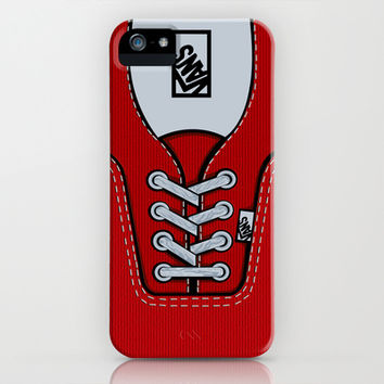 Red Vans shoes apple iPhone 3, 4 4s, 5 5s 5c, iPod & samsung galaxy s4 case cover