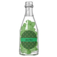 Seamless pattern with Christmas trees Chewing Gum Favors