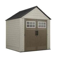 Rubbermaid Big Max 7 ft. x 7 ft. Storage Shed with Free Utility Hook 2000714 at The Home Depot - Mobile