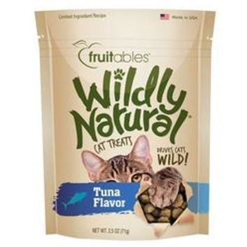 Fruitables Tuna Flavor Wildly Natural Cat Treats
