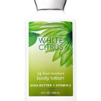 Bath & Body Works WHITE CITRUS Body Lotion 8 oz