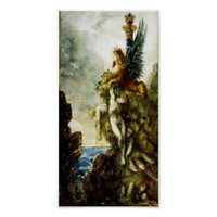 Victorious Sphinx by Gustave Moreau