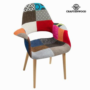 Patchwork polypropylene chair by Craftenwood