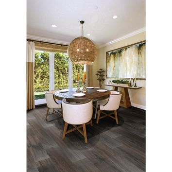 MS International Ardennes Notte 6 in. x 36 in. Glazed Porcelain Floor and Wall Tile (15 sq. ft. / case)-NHDARDNOT636 - The Home Depot