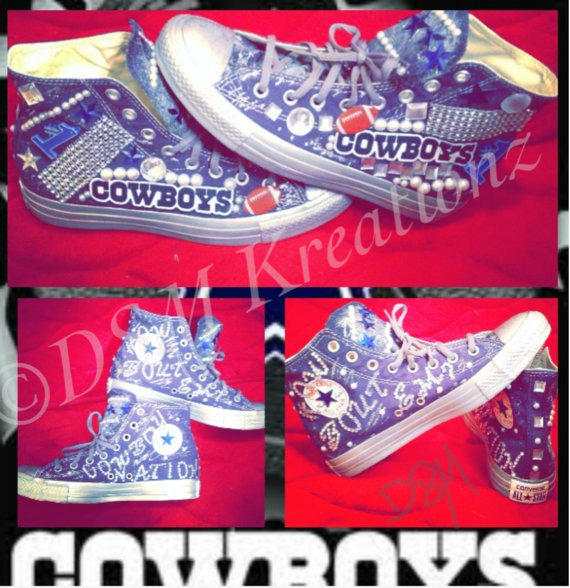 Custom Dallas Cowboys Converse All Star from DSMKreationzZ on 53321b73a