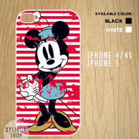 Minnie Mouse Case Available for Iphone 4,iphone 4s case,iphone 5 case and Samsung Galaxy S3 and S4 case