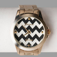 HARRISON CHEVRON BOYFRIEND WATCH