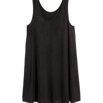 Jersey A-line Dress - from H&M