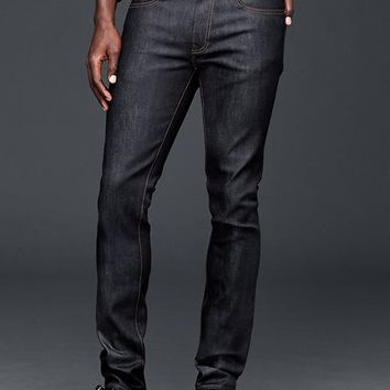 Gap Men 1969 Skinny Fit Jeans Resin Rinse