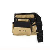 76490 - 6 Pocket Carpenter's Tool Belt in Polyester | Style n Craft