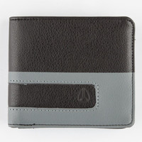 Nixon Showoff Bi-Fold Wallet Black/Grey One Size For Men 25924712701