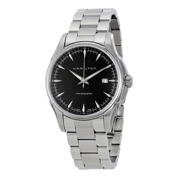 Hamilton Jazzmaster Viewmatic Black Dial Mens Watch H32665131