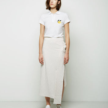 Knotted Jersey Skirt by J.W. Anderson