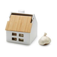 Garlic Storage House | garlic keeper, napkin dispenser