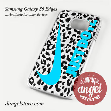 nike leopard just do it Phone Case for Samsung Galaxy S3/S4/S5/S6/S6 Edge/S6 Edge Plus