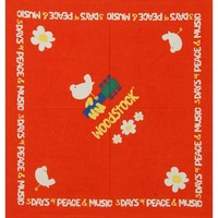 Woodstock Bandana Orange