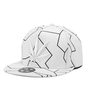 Sports Hat Cap trendy  Fashion Hiphop Cap Maple Leaves Embroidery Sports Outdoors Cap Casquette Baseball Cap Gorras Unisex Fitted Snapback Hat 2018 KO_16_1