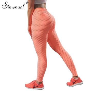 Push up leggings women sportswear athleisure slim elastic fitness legging