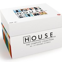 House M.D. - Complete Collection (Seasons 1-8) - 39-Disc Box Set ( Dr. House - Medical Division (Doctor House MD) - 177 Episodes ) [ Blu-Ray, Reg.A/B/C Import - United Kingdom ]