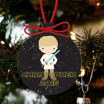 Personalized Christmas Star Wars Ornament - Hans Solo