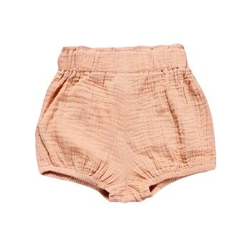 Bonjean Hot Sale 2017 Summer Baby Girls and Boys Shorts Casual Children's Clothing   Linen Toddler Cotton Shorts Pants 1-4Y