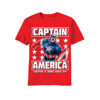 Captain America Getting It Done T-Shirt