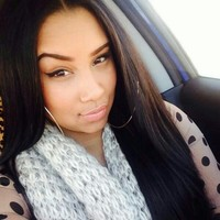 Silky Straight Lace Front Wig 22-24 inches #1b