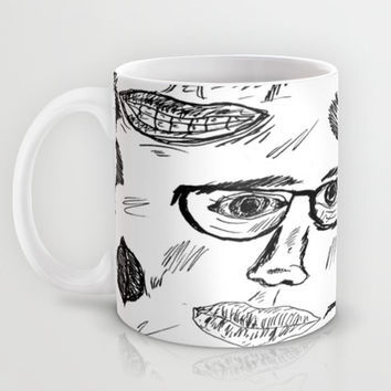 Faces Mug by Yuval Ozery
