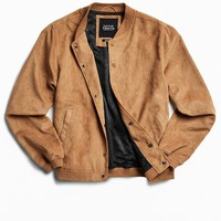 Native Youth X UO Faux Suede Bomber Jacket